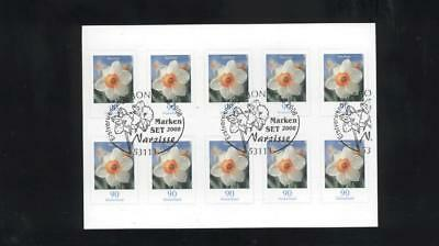 (948363) Flowers, Booklet, Germany