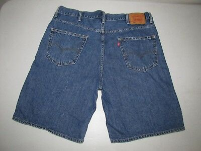 6213135b MENS LEVI'S 550 Relaxed Fit Jean Shorts. Size 40 Blue. 10