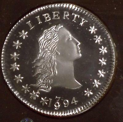 1794 Silver Dollar | Gallery Mint Museum| 1.5 oz Silver | Proof (MG1833)
