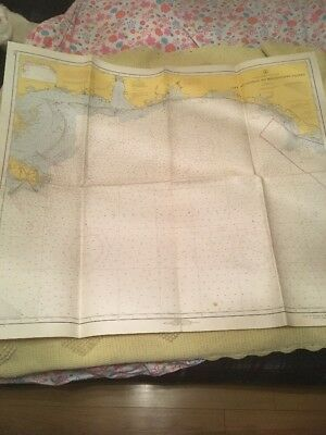 Vtg Nautical Chart: C&GS 1115,Cape St. George to Mississippi Passes