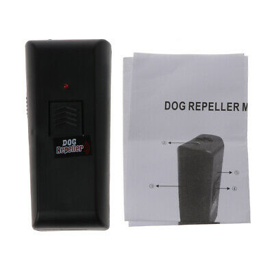 Ultrasonic Stop Barking Dog Training Repeller Anti Bark Control Trainer Device
