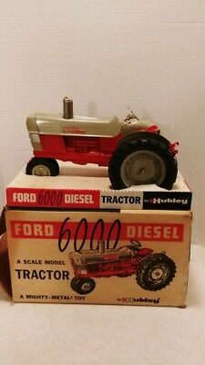 1/12 Vintage 1962 Hubley Ford 6000 Diesel Tractor MIB Boxed Beautiful Example