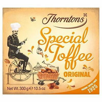 THORNTONS ORIGINAL SPECIAL TOFFEE 130g CASE OF 12 BAG'S WHOLESALE SWEETS 216419