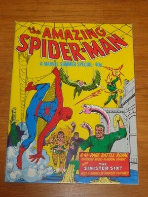 Spiderman British Weekly Summer Special 1980 Marvel