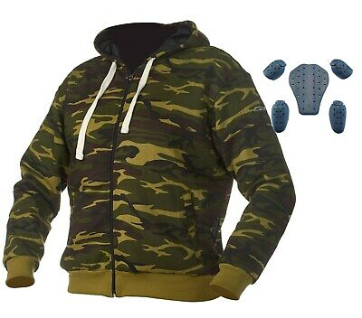 GRAND CANYON Motorradhoodie CHIEF camouflage Pullover inkl. PROTEKTOREN
