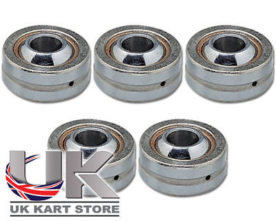 Lenksäule Welle Uniball Lager M8 x 22mm x 9mm 5er Pack UK Kart Store