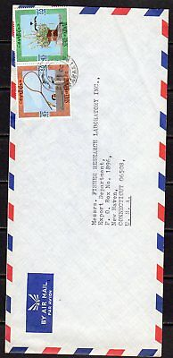 Kuwait  ---  Commercially Used Cover  -- 1974