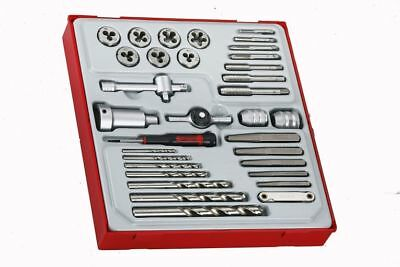 TENG TOOLS TTDTD34 | 34 Piece Tap And Die Set
