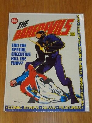 Daredevils #11 Marvel British Monthly November 1983 Captain Britain