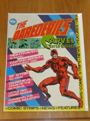 Daredevils #6 Marvel British Monthly June 1983 Daredevil Captain Britain