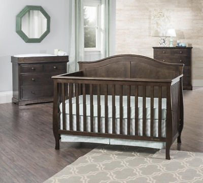 Child Craft Camden 4-in-1 Lifetime Convertible Crib Slate