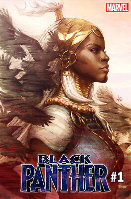 BLACK PANTHER #1 Stanley Artgerm Lau Variant - Trade Dress - PRESALE