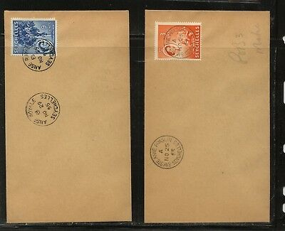 Seychelles   2  nice  covers       MS1227