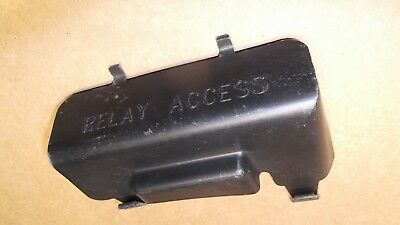 97 05 chevy blazer s10 jimmy olds bravada fuse panel trim cover oem1994 97 blazer jimmy oem dash relay access cover trim panel fuse bezel