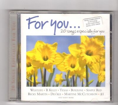 (HW82) For You... 20 Songs Especially For You, Various Artists - 2000 CD