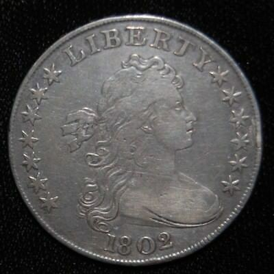 1802 Draped Bust Silver Dollar