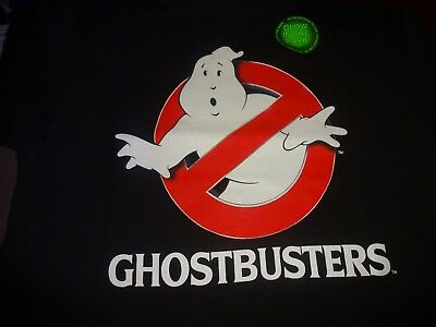 Ghostbusters Boys Youth Kids Glow In The Dark 100 Cotton Tee Shirt