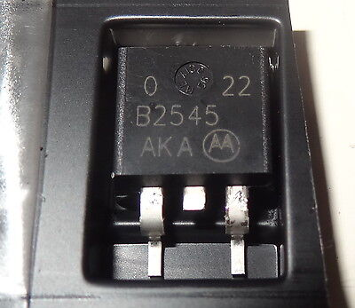 12 pcs MBRB2545 (MBRB2545CTG) Dual Schottky Rectifier, 30 A (2x15A) , 45V