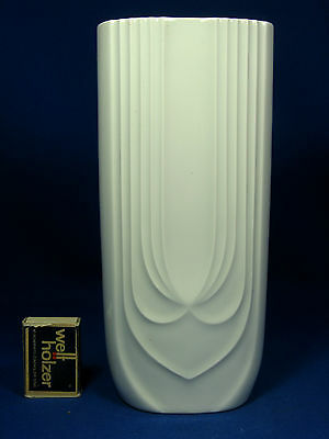 "Cool 70´s Hutschenreuther Pop Art Design "" Relief "" Porzellan Vase 6373  24,5 cm"