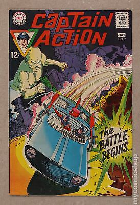 Captain Action (DC National) #2 1969 FN 6.0