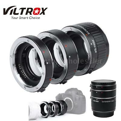 Macro Auto Focus TTL Lens Extension Tube Adapter Ring for Canon EF EFS 35mm S4E0