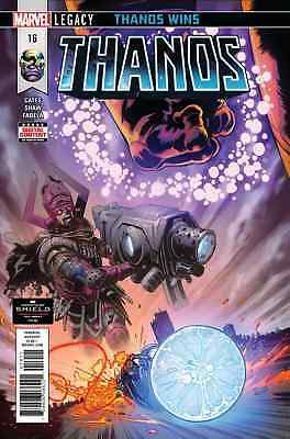 Thanos #16 Marvel Legacy Thanos Wins! Pt 4 Donny Cates Shaw Guardians 030118