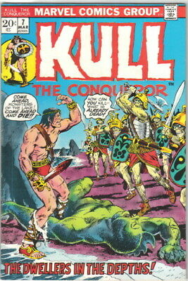 Kull The Conqueror Comic Book #7 Marvel Comics 1972 VERY FINE-