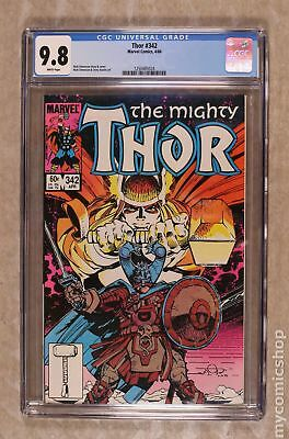 Thor (1st Series Journey Into Mystery) #342 1984 CGC 9.8 1250485024
