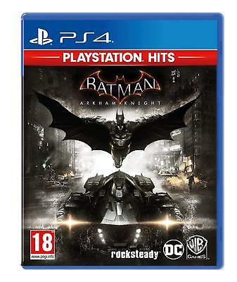 Batman Arkham Knight PS4 - Hits Videospiel für Sony Playstation 4 Neu Ovp UK Pal