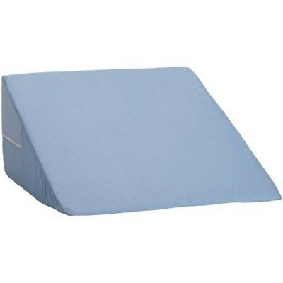 Memory Foam Wedge Pillow System Sleep Adjustable Bed Back Lumbar Support  Blue