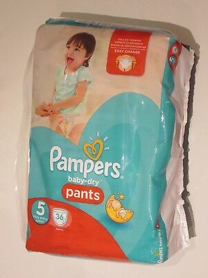 72 Pampers Baby Dry Pants Size 5 easy change