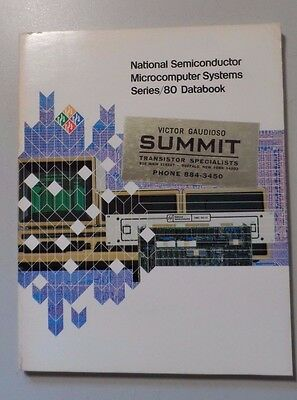 1979 National Semiconductor Microcomputer Systems Series/80 Databook