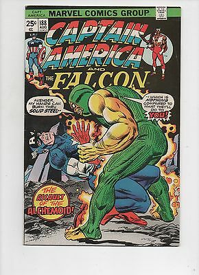 Marvel Comics  Captain America #188   VF/NM Condition   Gil Kane Cover