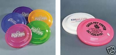 "150 - 9 1/4"" Flyer Frisbees Custom Printed Personalized party favors"