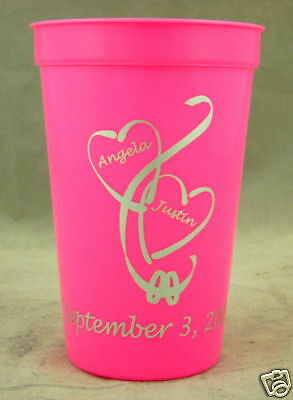 250 22oz cups Personalized wedding favors Bridal shower