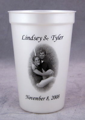 150 16 oz Cups Custom Personalized Wedding Party Favors Shower bachelorette