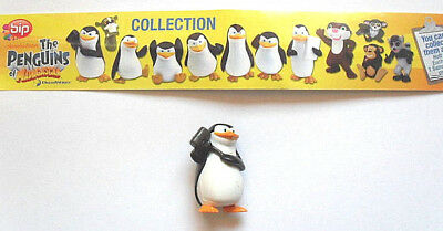"BIP - The Penguins of Madagascar  -  "" Figur 1  "" ohne BPZ 2010"
