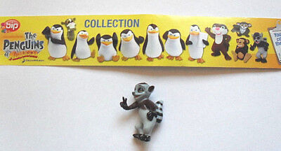 "BIP - The Penguins of Madagascar  -  "" Figur 12  "" ohne BPZ 2010"
