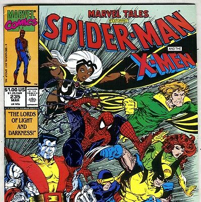 MARVEL TALES #235 Spider-Man & the Uncanny X-MEN from Mar. 1990 in VF- condition