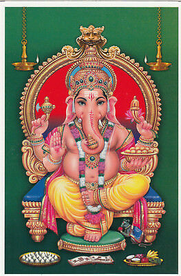 (09321) India Postcard Lord Ganesh un-posted