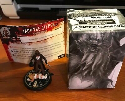 Horrorclix Unique Promo #107 Jack The Ripper New In Box