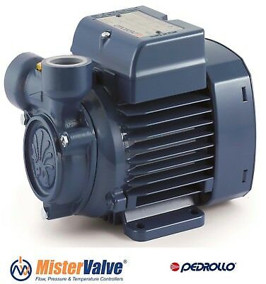 Electric Peripheral Water Pump PK 80 1Hp Brass impeller 400V Pedrollo