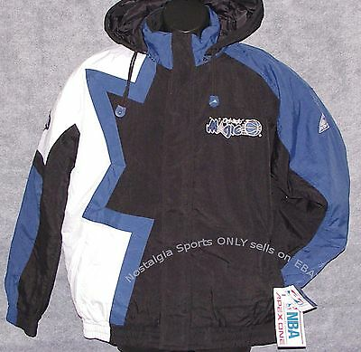 Vintage 90s NBA Orlando MAGIC Apex One JACKET BORDER BackPatch NWT New Old Stock
