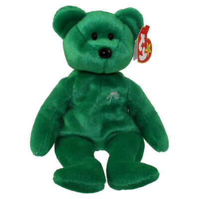 TY Beanie Baby - ERIN the Irish Bear (8.5 inch) - MWMTs Stuffed Animal Toy