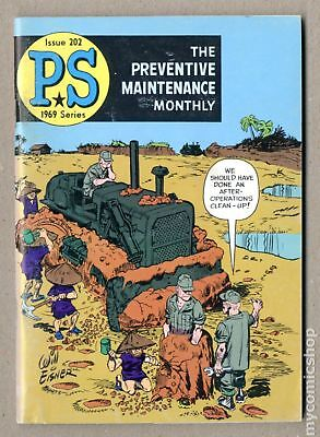 PS The Preventive Maintenance Monthly #202 1969 VG/FN 5.0