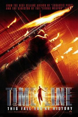 Timeline Original Single-Sided Advance Rolled Movie Poster 27x40 NEW 2003