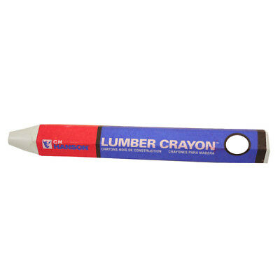 CH Hanson 10368 Yellow Standard Lumber Crayon - 12 Count Boxed