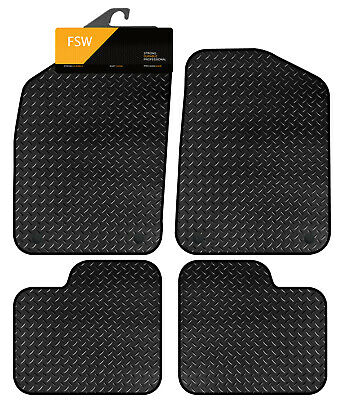 1 x clips Tailored Made Fitted Car Floor mats:FIAT 500 2008-DEC2012
