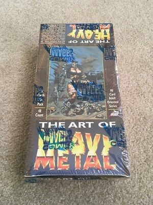 The Art of Heavy Metal - Sealed Box - Non-Sports Trading Cards