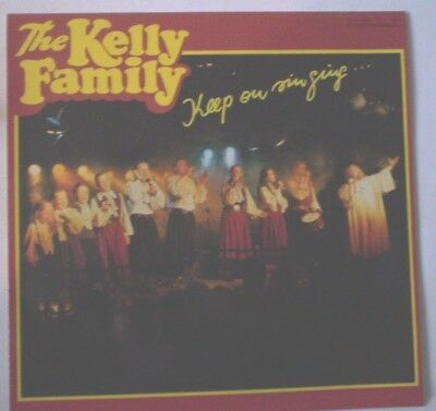LP The Kelly Family Keep on Singing